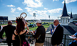 November 3, 2018 : Fans look over the track from besides the twinspires on Breeders Cup World Championships Saturday at Churchill Downs on November 3, 2018 in Louisville, Kentucky. Scott Serio/Eclipse Sportswire/CSM