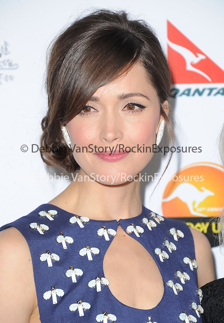 Rose Byrne at The G'Day USA Black Tie Gala held at The JW Marriot at LA Live in Los Angeles, California on January 12,2013                                                                   Copyright 2013 Hollywood Press Agency