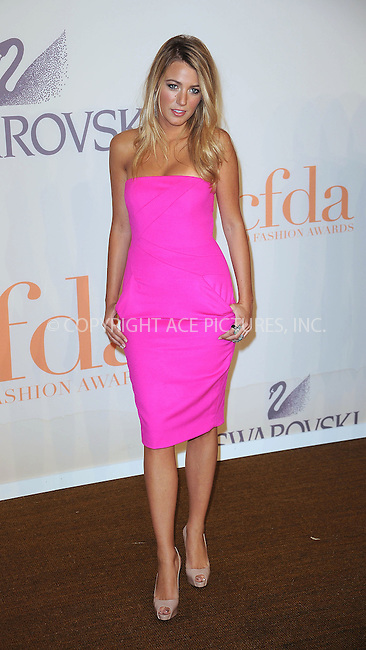 WWW.ACEPIXS.COM . . . . . ....June 15 2009, New York City......Actress Blake Lively at the 2009 CFDA Fashion Awards at Alice Tully Hall, Lincoln Center on June 15, 2009 in New York City.....Please byline: KRISTIN CALLAHAN - ACEPIXS.COM.. . . . . . ..Ace Pictures, Inc:  ..tel: (212) 243 8787 or (646) 769 0430..e-mail: info@acepixs.com..web: http://www.acepixs.com
