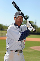 Detroit Tigers minor leaguer Ovandy Suero during Spring Training at the Chain of Lakes Complex on March 17, 2007 in Winter Haven, Florida.  (Mike Janes/Four Seam Images)