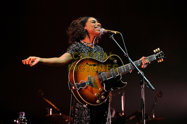 LONDON, ENGLAND - March 14: Lianne La Havas performing at Royal Albert Hall on March 14, 2016 in London, England.<br /> CAP/MAR<br /> &copy; Martin Harris/Capital Pictures