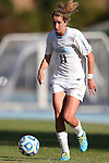 03 November 2013: North Carolina's Kelly McFarlane. The University of North Carolina Tar Heels hosted the Boston College Eagles at Fetzer Field in Chapel Hill, NC in a 2013 NCAA Division I Women's Soccer match and the quarterfinals of the Atlantic Coast Conference tournament. North Carolina won the game 1-0.