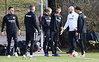 David Abraham (Eintracht Frankfurt) wieder im Teamtraining - 20.02.2019: Eintracht Frankfurt Training, UEFA Europa League, Commerzbank Arena, DISCLAIMER: DFL regulations prohibit any use of photographs as image sequences and/or quasi-video.
