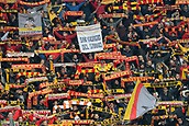 5th November 2017, Allianz Stadium, Turin, Italy; Serie A football, Juventus versus Benevento; the supporters of Benevento