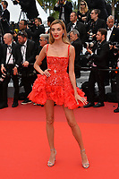 "CANNES, FRANCE. May 22, 2019: Alina Baikova at the gala premiere for ""Oh Mercy!"" at the Festival de Cannes.<br /> Picture: Paul Smith / Featureflash"