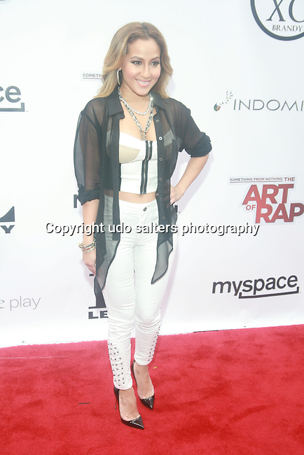 Adrienne Bailon Attends the NEW YORK PREMIERE OF ICE-T'S DIRECTORIAL DEBUT FILM SOMETHING FROM NOTHING: THE ART OF RAP Held at Alice Tully Hall, Lincoln Center, NY   6/12/12