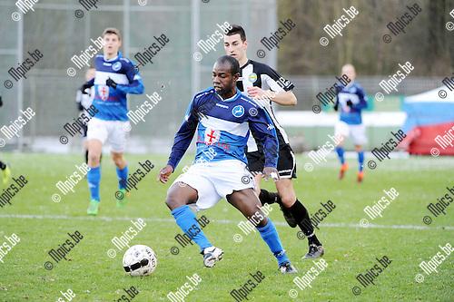2016-01-17 / Voetbal / Seizoen 2015-2016 / FC Turnhout - Thes Sport / Dani&euml;l Owusu (Turnhout)<br /><br />Foto: Mpics.be