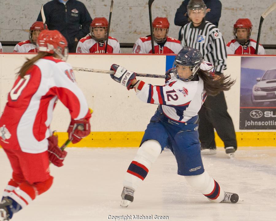 Sept 17 Hockey Féminin Cegep Saint-Laurent versus St Jérome