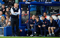 Blackburn Rovers' manager Tony Mowbray bellows instructions<br /> <br /> Photographer Andrew Kearns/CameraSport<br /> <br /> The EFL Sky Bet Championship - Queens Park Rangers v Blackburn Rovers - Saturday 5th October 2019 - Loftus Road - London<br /> <br /> World Copyright © 2019 CameraSport. All rights reserved. 43 Linden Ave. Countesthorpe. Leicester. England. LE8 5PG - Tel: +44 (0) 116 277 4147 - admin@camerasport.com - www.camerasport.com