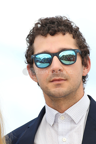 Shia LABEOUF at 'American Honey' photocall during the 69th Cannes International Film Festival on May 15th, 2016.<br /> CAP/GOL<br /> &copy;GOL/Capital Pictures /MediaPunch ***NORTH AMERICA AND SOUTH AMERICA ONLY***