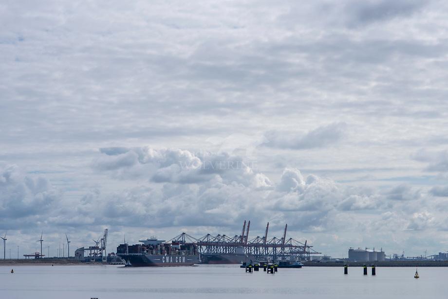 Industrieterrein op de Maasvlakte, Rotterdam