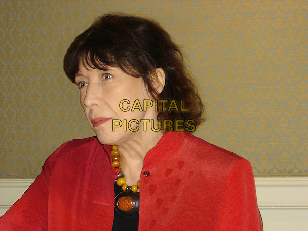 "LILY TOMLIN.Photocall for ""A Prairie Home Companion"" held at the Four Seasons Hotel, Los Angeles, California, USA..June 1st, 2006.Ref: AW.headshot portrait yellow beaded necklace .www.capitalpictures.com.sales@capitalpictures.com.© Capital Pictures."