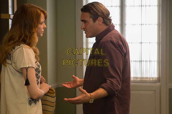 Emma Stone, Joaquin Phoenix<br /> in Irrational Man (2015) <br /> *Filmstill - Editorial Use Only*<br /> CAP/NFS<br /> Image supplied by Capital Pictures