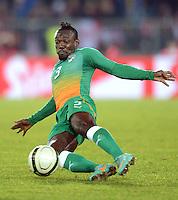 Fussball International  Freundschaftsspiel   14.11.2012 Oesterreich - Elfenbeinkueste Arthur BOKA (Elfenbeinkueste)