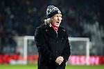 Nederland, Alkmaar, 19 januari  2013.Eredivisie.Seizoen 2012/2013.AZ-Vitesse 4-1.Gertjan Verbeek, trainer-coach van AZ juicht na de 4-1 overwinning op VItesse