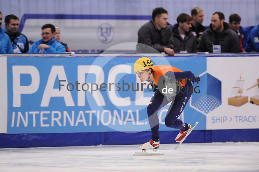 "SHORT TRACK: MOSCOW: Speed Skating Centre ""Krylatskoe"", 14-03-2015, ISU World Short Track Speed Skating Championships 2015, Ranking Races, Freek VAN DER WART (#150 