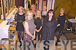 """Pictured at the launch of the relocation of """"Gold hair Skin and Nails"""" to College Square, Killarney on Wednesday night were Aine Collins, Felicia Thomas, Jacqui Kelliher, Laura Murphy, Renata Soltesova, Marcella O'Brien and Sarah Goff."""