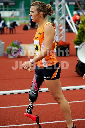 STADSKANAAL - Atletiek, European Championships IPC Atletics, Pagedal, 26-06-2012, Marije Smits