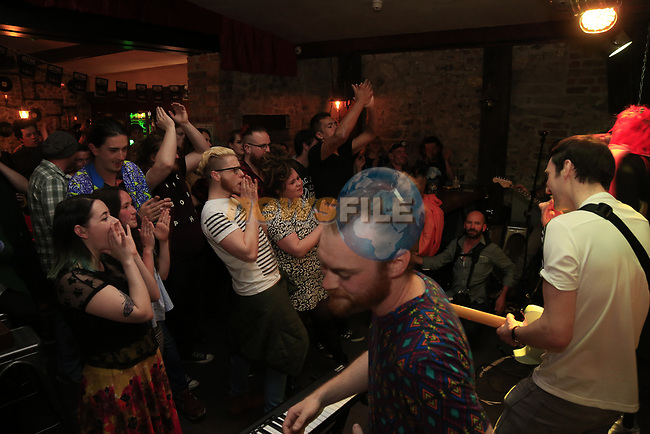 Accident in the workplace at the Firestone Battle of the Bands 2017 in odd Mollies, Drogheda, CoLouth.<br /> Picture: Newsfile   Fran Caffrey<br /> <br /> <br /> All photo usage must carry mandatory copyright credit (&copy; Newsfile   Fran Caffrey)