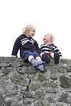 Best seats in the house for brothers Joseph and Ronan O'Reilly at the 2011 Laytown races..(Photo credit should read Jenny Matthews www.newsfile.ie)....This Picture has been sent you under the conditions enclosed by:.Newsfile Ltd..The Studio,.Millmount Abbey,.Drogheda,.Co Meath..Ireland..Tel: +353(0)41-9871240.Fax: +353(0)41-9871260.GSM: +353(0)86-2500958.email: pictures@newsfile.ie.www.newsfile.ie.