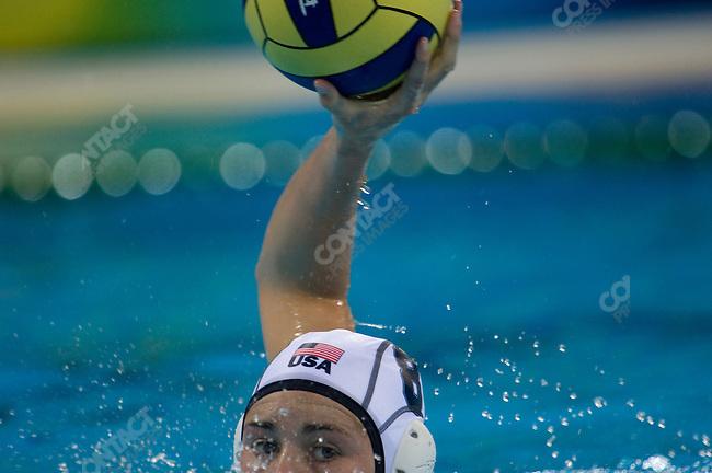 Womem's Water Polo final, Netherlands (in blue) defeats USA, Yingdong Natatorium, Summer Olympics, Beijing, China, August 21, 2008