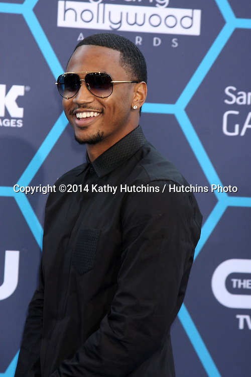 LOS ANGELES - JUL 27:  Trey Songz, aka Tremaine Neverson at the 2014 Young Hollywood Awards  at the Wiltern Theater on July 27, 2014 in Los Angeles, CA