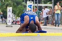 SAO PAULO, SP, 09.04.2016 -MARATONA-SP- Wellington Bezerra da Silva,conquista o quarto lugar nos 42 KM com o tempo de 02:22:37 durante a 23ª edição da Maratona Internacional de São Paulo, realizado na cidade de São Paulo, SP, neste domingo (09). (Foto: Danilo Fernandes/Brazil Photo Press)