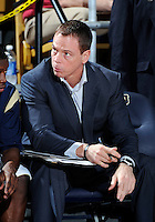 Florida International University Assistant Coach Scott Adubato during the game against ULM, which won the game 54-50 on January 07, 2012 at Miami, Florida. .