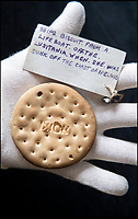 Biscuit that survived the Lusitania sinking.