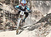 8th September 2017, Smithfield Forest, Cairns, Australia; UCI Mountain Bike World Championships; Laurie Greenland (GBR) riding for MS Mondraker Team during downhill practice;