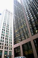 Downtown Chicago.  Chicago Illinois USA