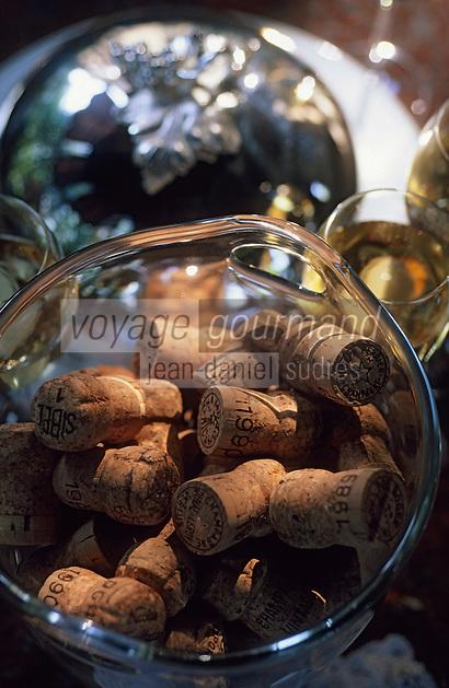 """Europe/France/Champagne-Ardenne/51/Marne/Reims: Relais et château """"Les Crayères"""" - Bouchons de champagne"""