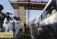 Sars Epidemic in China for Wei for Stern Magazine by Lou Sin Wei / Sinopix