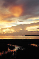 Photo of Sunset on Charleston Harbor, SC