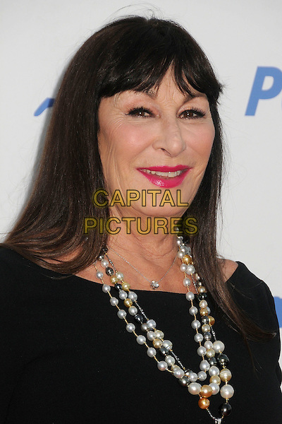30 September 2015 - Hollywood, California - Anjelica Huston. PETA 35th Anniversary Gala held at the Hollywood Palladium. <br /> CAP/ADM/BP<br /> &copy;BP/ADM/Capital Pictures