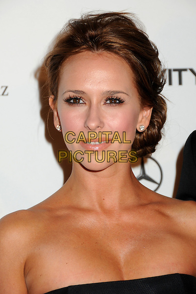 "JENNIFER LOVE HEWITT.attends the Art of Elysium 4th Annual Charity Gala ""Heaven"" held at The Annenberg Building at The California Science Center in Los Angeles, California, USA, January 15th 2011..portrait headshot black hair up beauty .CAP/ADM/BP.©Byron Purvis/AdMedia/Capital Pictures."