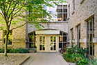 2July 2, 2019; McGlinn Hall (Photo by Barbara Johnston/University of Notre Dame)