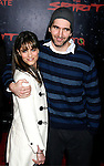 "HOLLYWOOD, CA. - December 17: Actress Amanda Peet and Actor David Benioff arrive at the Los Angeles premiere of ""The Spirit"" at the Grauman's Chinese Theater on December 17, 2008 in Hollywood, California."
