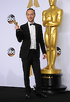 28 February 2016 - Hollywood, California - Emmanuel Lubezki. 88th Annual Academy Awards presented by the Academy of Motion Picture Arts and Sciences held at Hollywood & Highland Center. Photo Credit: Byron Purvis/AdMedia