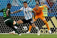 Saint Petersburg, RUSSIA - Tuesday, June 26, 2018: Argentina beat Nigeria 2-1 at Saint Petersburg Stadium in the western portion of Krestovsky Island in Saint Petersburg.