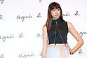Hikari Mori, Apr 7, 2016 : agnes b. fashion show a whole story in Tokyo, Japan on April 7. (Photo by Sho Tamura/AFLO)