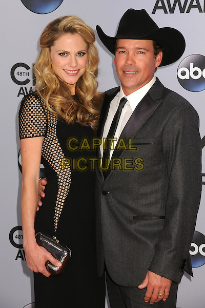 05 November 2013 - Nashville, Tennessee - Clay Walker, Jessica Craig. 47th CMA Awards, Country Music's Biggest Night, held at Bridgestone Arena. <br /> CAP/ADM/BP<br /> &copy;BP/ADM/Capital Pictures