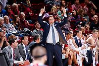 Stanford, CA -- December 15, 2018: Stanford Men's Basketball wins over Eastern Washington 78-62 at Maples Pavilion.