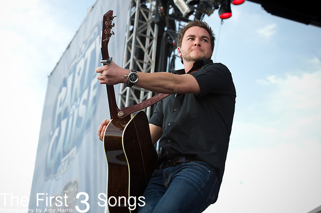 Mike Eli of the Eli Young Band performs at the ACM Party for a Cause Festival during The ACM Experience at The Orleans Hotel & Casino on April 6, 2013.