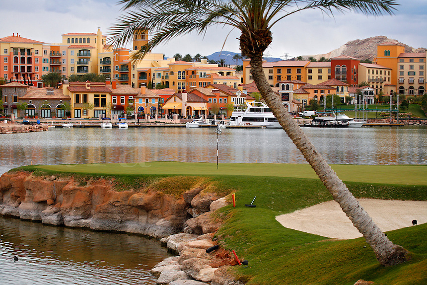 Lake Las Vegas Resort and the Reflection Bay Golf Course, Las Vegas, Nevada