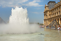 Fountains of the Louvre Paris