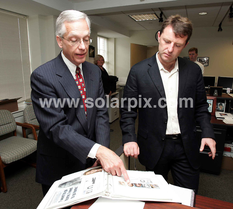 **ALL ROUND PICTURES FROM SOLARPIX.COM**.**WORLDWIDE SYNDICATION RIGHTS**.Gerry  McCann visits the Whitehouse, and the National centre for Missing and Exploited children in Alexandria, Washington USA. Gerry and Kate McCann's 3 year old daughter, Madeleine, was abducted from their holiday apartment in the Algarve, Portugal, on Thursday May 3rd 2007. 23rd & 24th July 2007..This pic: Gerry McCann and Ernie Allen, President and Chief Executive of (NCMEC)..JOB REF: 4752 CSH        DATE: 24_07_2007.**MUST CREDIT SOLARPIX.COM OR DOUBLE FEE WILL BE CHARGED* *UNDER NO CIRCUMSTANCES IS THIS IMAGE TO BE REPRODUCED FOR ANY ONLINE EDITION WITHOUT PRIOR PERMISSION*