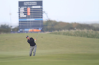 David Howell (ENG) on the 17th during the Final Day of the Alfred Dunhill Links Championship at St. Andrews Golf Club on Sunday 29th September 2013.<br /> Picture:  Thos Caffrey / www.golffile.ie