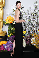 HOLLYWOOD, LOS ANGELES, CA, USA - MARCH 02: Anne Hathaway at the 86th Annual Academy Awards - Press Room held at Dolby Theatre on March 2, 2014 in Hollywood, Los Angeles, California, United States. (Photo by Xavier Collin/Celebrity Monitor)