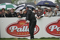 Padraig Harrington tees off on the 4th hole during the final round of the Irish Open on 20th of May 2007 at the Adare Manor Hotel & Golf Resort, Co. Limerick, Ireland. (Photo by Eoin Clarke/NEWSFILE)